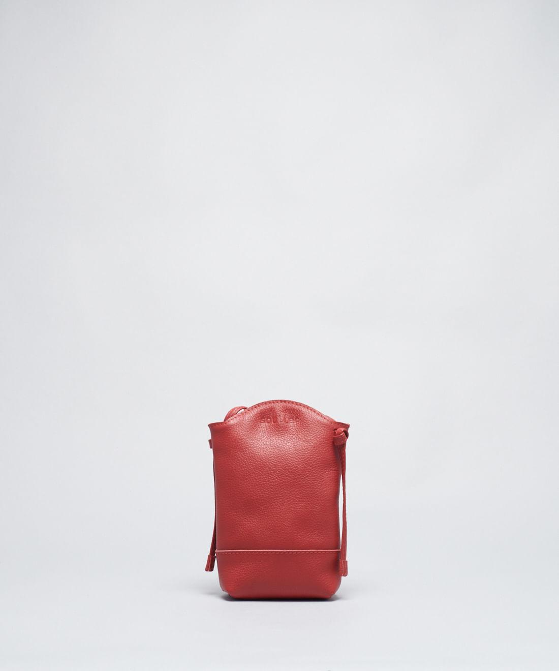 Bolsinha Baldinho - Vermelho