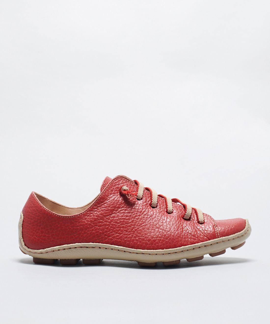 Tênis Comfort Croma - Vermelho
