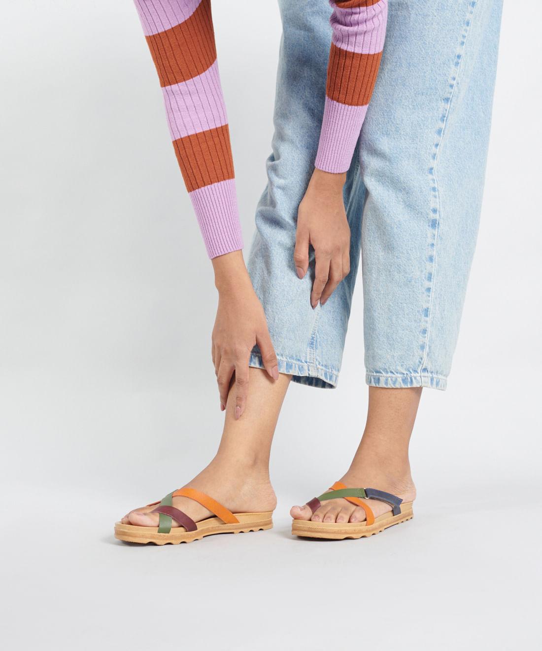 Sandália Birken Croma - Colors