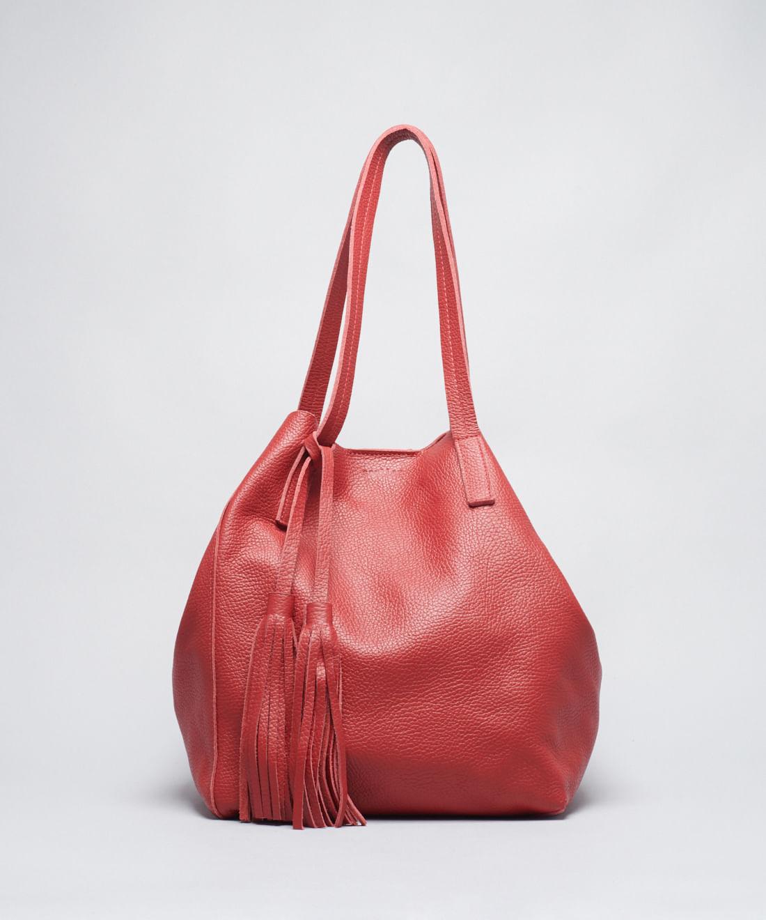 Bolsa Grande Molinha - Vermelho