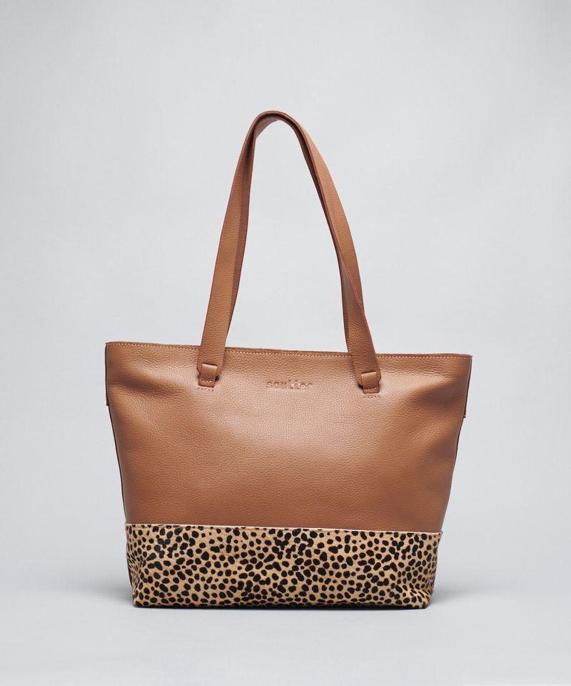 Bolsa Base Leopardo - Animal Print u - animal print