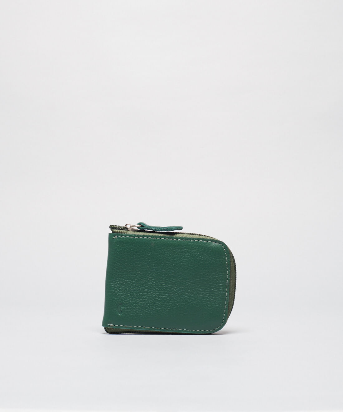 Porta Cartão Ziper - Verde