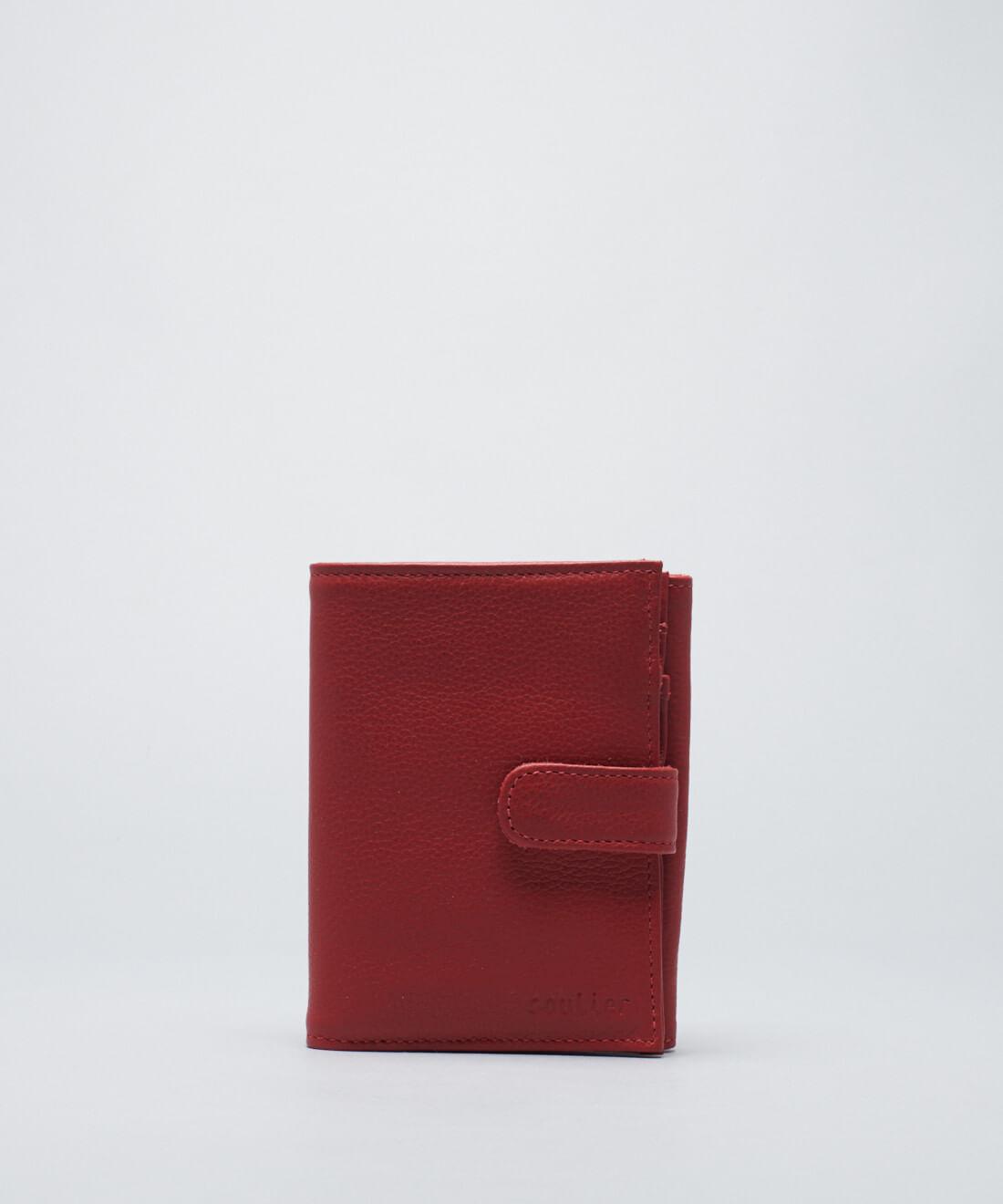 Carteira Grande Lingueta - Vermelho